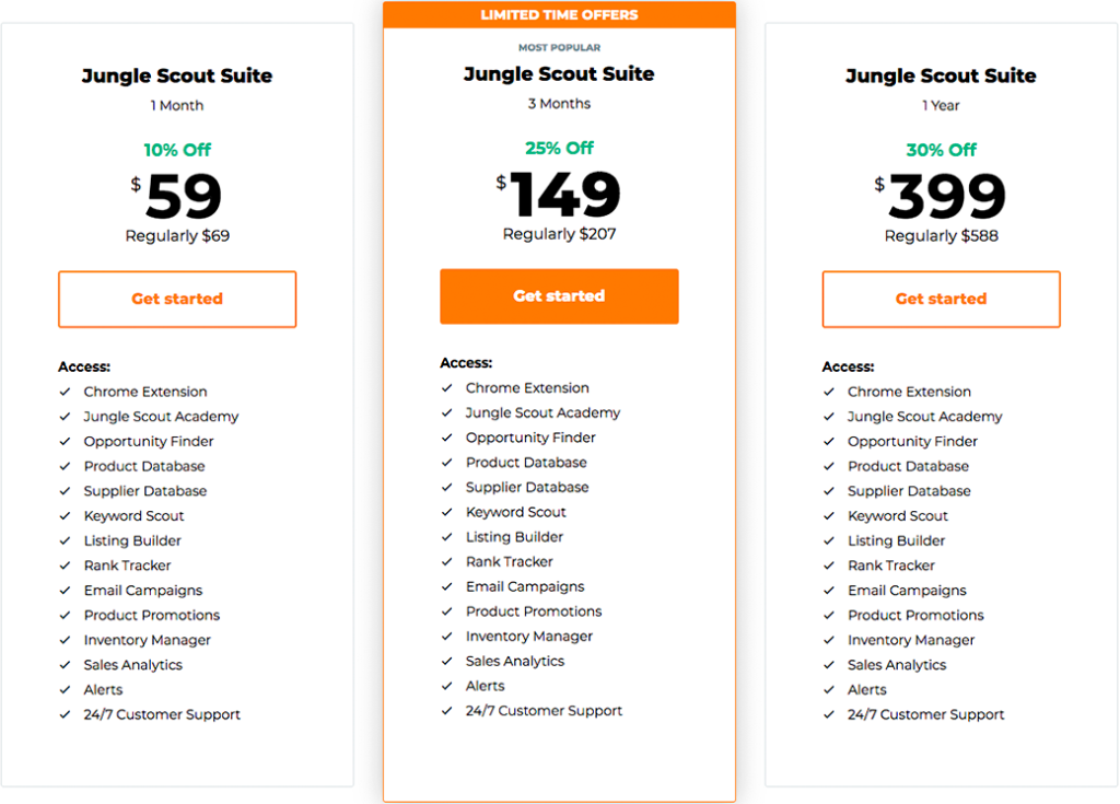 discount jungle scout web app extension price
